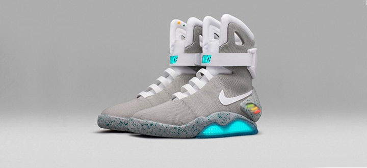 Компания Nike выпустила самозашнуровывающиеся кроссовки из фильма «Назад в будущее». Купить Nike MAGS может каждый