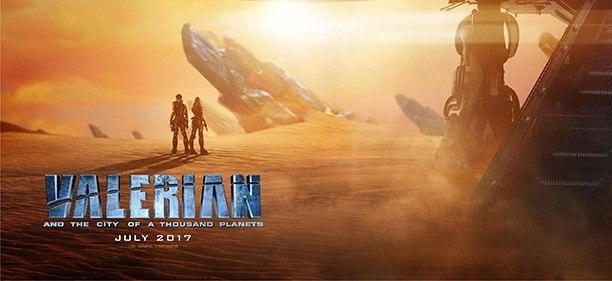 Постер и новые кадры фильма «Валериан и город тысячи планет»