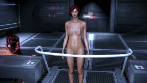 Порно моды для мас эвекта