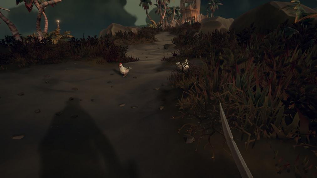Sea of Thieves - где найти цыплят для квеста